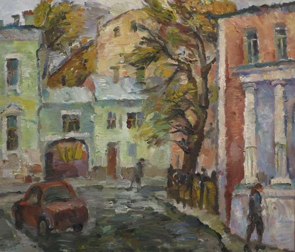 У Покровки. 2012. x.м. 70х80